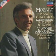 Mozart - Piano Concertos Nos 25 & 26 Ashkenazy Decca CD West German.
