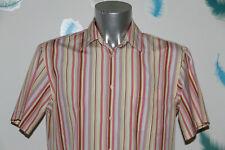 EDEN PARK club house chemise à rayures manches courtes taille L  EXCELLENT ÉTAT