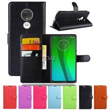 Wallet Leather Card Slot Flip Case Cover For Motorola Moto G7 /G7 Plus /G7 Power