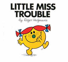 Little Miss Trouble (Little Miss Library) by Roger Hargreaves, Acceptable Used B