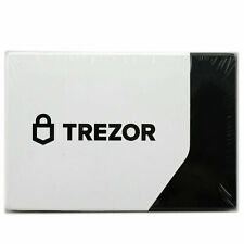 Brand New Factory Sealed Un-opened Trezor Model T Cryptocurrency Hardware Wallet