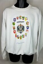 Vintage Germany Frankfurt German States Crewneck Sweatshirt Men's Large L