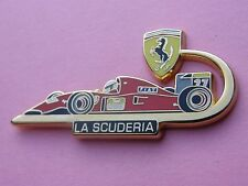 pin's Ferrari - LA SCUDERIA - LB CREATION PARIS - 1992 - 500ex