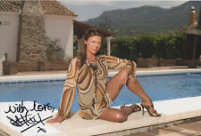 CLAIRE KING Signed 12x8 Photo EMMERDALE And BAD GIRLS COA