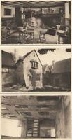 3 x LYGON ARMS Postcards.  -   BROADWAY  - WORCESTER  ( 58B )