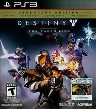 Destiny: The Taken King -- Legendary Edition (Sony PlayStation 3, 2015) *Sealed*