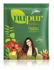 Nupur Herbal Henna Godrej | For Hair Dye & Hair Care | 120g