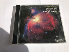 Royal Philharmonic Orchestra : Robert Simpson: Symphonies Nos. 1 & 8 CD MINT