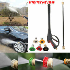 3000PSI haute pression Power Washer spray eau Buse Pistolet voiture propre Lance + baguette