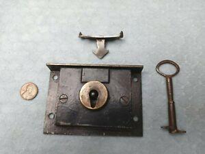 Chest Lock Steel Carpenter Box Semi-mortise Grabber Unusual