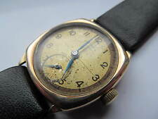 Vintage mens 9ct gold Rotary wrist watch