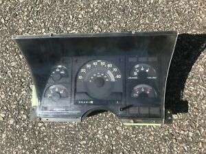 88-91 GMC Chevy Truck C K Instrument Cluster Speedometer Gauge Panel AT 120K