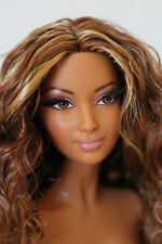 Pretty Barbie Doll, AA African American Model Muse,Nude #C07
