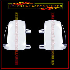 For Super Duty F250/350/450 99-2007+Excursion 2000-05 Chrome Mirror Cover SIGNAL