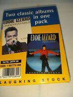 Eddie Izzard 2 Classic Albums Cassettes Unrepeatable Live, Definite Article