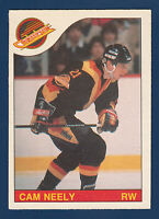 CAM NEELY 85-86 O-PEE-CHEE 1985-86 NO 228 EXMINT+ 5