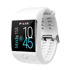Polar m600 Fitness SmartWatch Bianco Android Wear GPS Pulsuhr Orologio Sportivo M/L NUOVO