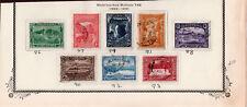 Tasmania  86-93 USED Set  1899-1900