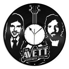 Avett Brothers Vinyl Wall Clock Music Bands Musicians Themed Room Decoration