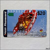 Telecom Surf Life Saving Australia Limited Boat N942244a 540 $20 Phonecard (PH7)