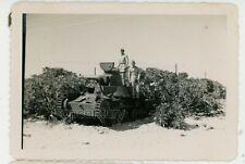 WW2 Photograph 1948 Guam Lot of 8 Photos Japanese Tank Sunken Ship US Army Base