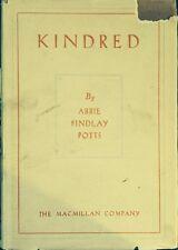Abbie Findlay Potts~KINDRED~SIGNED 1ST/DJ