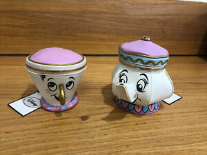 Mrs Potts Beauty And The Beast Disney Primark Chip Cup & Teapot Coin Purse BNWT
