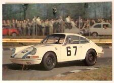 Cartolina Porsche 911 Auto Da Corsa