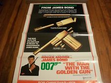 The Man with the Golden Gun pre-release poster  1974