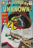 CHALLENGERS OF THE UNKNOWN #46 (VG) SILVER AGE DC