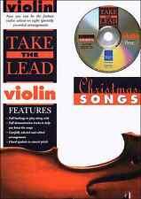 Violon chansons de noël carols sheet music book & playalong backing tracks cd