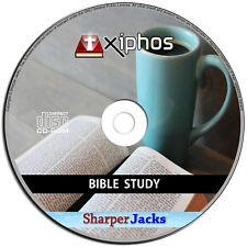 New & Fast Ship! Xiphos Bible Study Time Church Worship Educational Software Pc