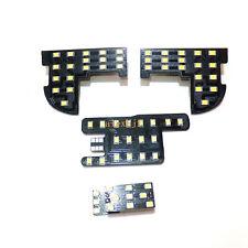 4Pcs 6000K LED Interior Reading Lights for Honda Fit Jazz Civic 9th City 2012~14