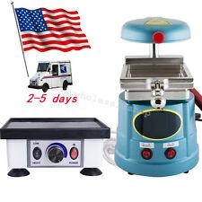USA Dental Lab Vacuum Forming Molding +Vibrator Model Oscillator equipment FDA