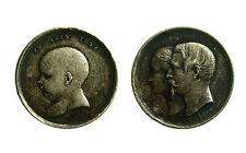 pcc1838_64) Médaille Napoléon III BAPTEME DU PRINCE IMPERIAL 14 juin 1856 mm 16