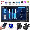 7'' Car HD 2DIN Stereo MP5 Player BT FM Radio USB AUX Head Unit Reversing Camera