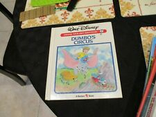 CHOOSE YOUR OWN ADVENTURE Walt Disney's DUMBO'S CIRCUS hc Hardcover