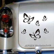 Adesivo Farfalle 6 Stück nel Set - Adesivi per auto Farfalla set XS