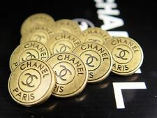 Chanel Button gold 100% Authentic  (price for 1 button)
