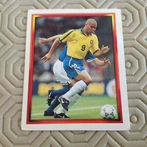 Panini  World Cup - France 98.  BRASIL  RONALDO  NO 261