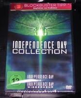 INDEPENDENCE DAY COLLECTION DVD 2 DISC SET SCHNELLER VERSAND NEU & OVP