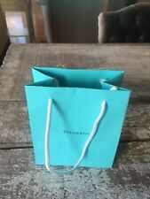 Authentic Tiffany & Co. Small Gift Bag new NYC flagship store blue small  5x6