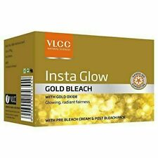 NEW BRANDED VLCC Insta Glow Gold Bleach 30 GRAM EACH PACK