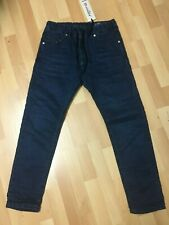 DIESEL NARROT ne 0676V Da Uomo Denim Jeans Sudore Fast Stretch Regular Fit Carota