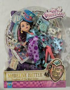 New, Sealed! Ever After High Madeline Hatter Way Too Wonderland Mattel Doll 2014