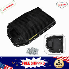 For BMW E60 E90 E82 740i Automatic Transmission Filter Kit w/ Oil Pan GA6HP19Z