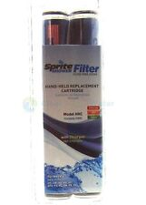 Sprite Hand Held Shower Filter Replacement Cartridges Twin Pack