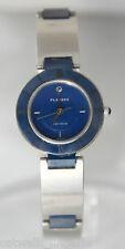 Playboy Retro KP7133F Women's Blue Zirconium Two Tone Watch Sapphire Crystal