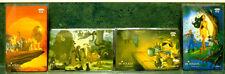 DISNEY TELECOM BELGIUM PHONE CARDS LION KING JUNGLE BOOK PINOCCHIO POCAHONTAS