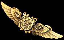 Auxiliary Coast Guard Aviation Wing Badge Aviator Pilot Pin Insignia